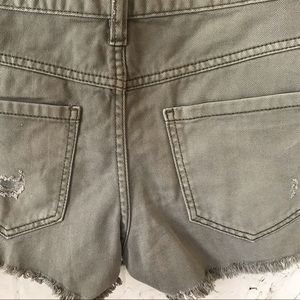 Free People Shorts - Free People Runaway Slouch Shorts, Size 25